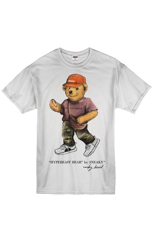 Sneaky EXCLUSIVE Hypebeast Bear Tričko