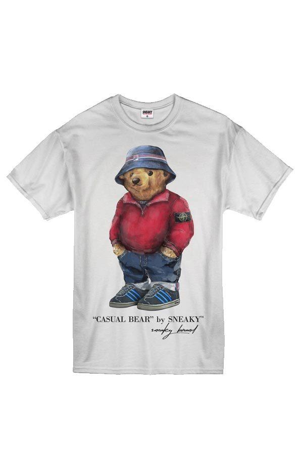 Sneaky EXCLUSIVE Casual Bear Tričko