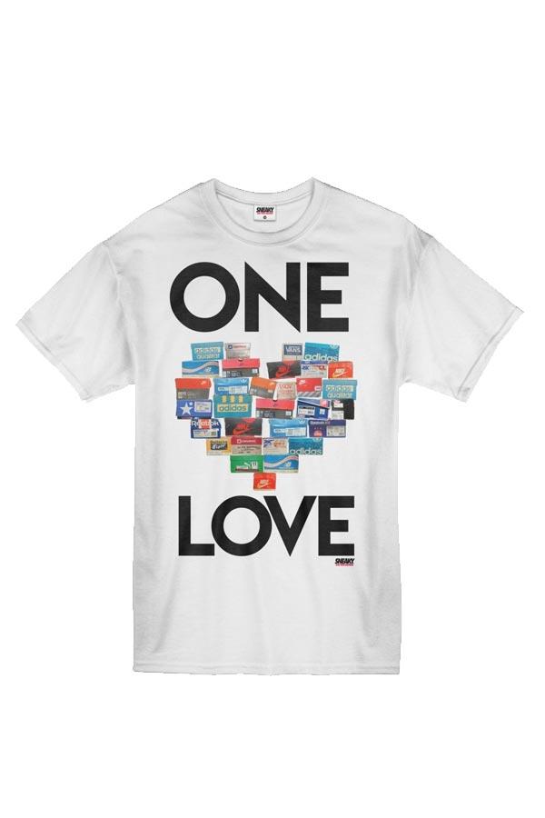 SNEAKY ONE LOVE Tričko